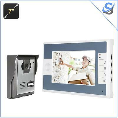 Video Door Phone Night Vision Weather Proof 7 Inch LCD Display Electronic Unlock