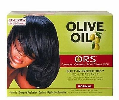 Organic Roots Olive Oil Hair Relaxer Non Lye NORMAL Relaxer