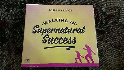 Walking in Supernatural Success by Joseph Prince. Brand New!