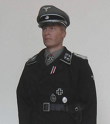 1/6 Scale german Waffen SS panzer officer custom figure (DID, Soldier Story)