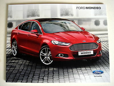 Ford . Mondeo . Ford Mondeo . November 2015 Sales Brochure