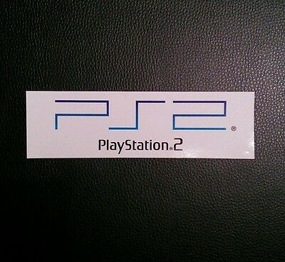 PS2 PlayStation 2 Logo Sticker Decal