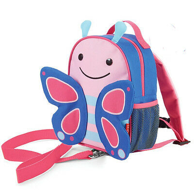 NEW Skip Hop ZooLet Butterfly Mini Backpack with Reins Zoo Let Ages 12months+
