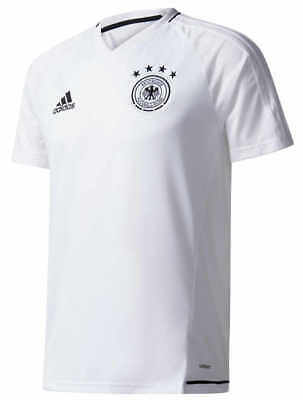Allemagne Germany DFB Adidas Maillot Entreinment blanc 2017 Homme S/S