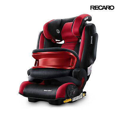2016 Recaro Monza Nova IS Red Ruby Child Seat (9-36 kg) (20-80 lbs)