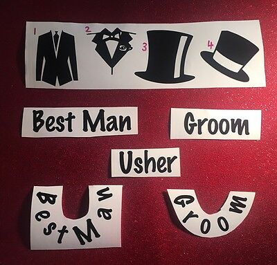 Vinyl Stickers Make Your Own Glasses! Bridal Party Gifts? Wedding?
