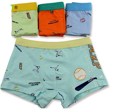 2pcs/lot Baby Boys Modal Cotton Underwear Boxer Kids Children Briefs Panty 2-10T