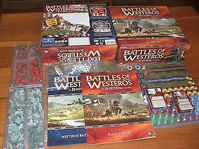 Boardgame Wargame Battles Of Westeros Eng Gioco Base
