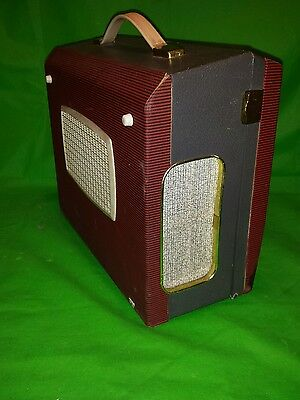 Vintage 1960s Civic portable reel to reel tape player