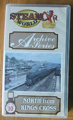ARCHIVE SERIES Vol.10; North from Kings Cross  - VHS video tape - STEAM RAIL