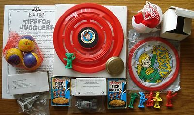 Box Of Special/limited Edition Promotional Collectables From Kelloggs And Anchor