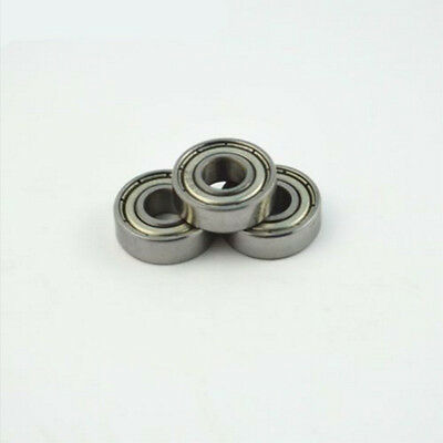 10pcs Carbon Steel 608zz Deep Groove Ball Bearing For Skateboard Scooter
