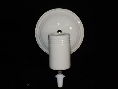 1800s OLD OPERA HOUSE THEATER PORCELAIN VANITY SCONCE LIGHTING - SINGLE