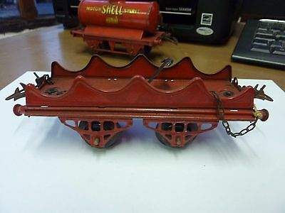 Hornby O Gauge Pre War ' Barrel Wagon' - See Pics For Condition