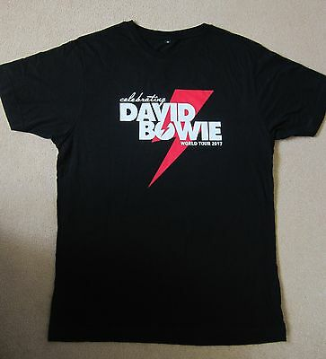 CELEBRATING DAVID BOWIE – original T SHIRT from theICONIC Brixtondate 8/1/2017