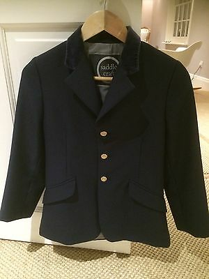 Child's Navy show Jacket 28 (to Fit aged 7/8 Years Approx)