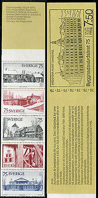 Sweden 1975 European Architectural Heritage Y./church/foundry/furnace/falun Mine