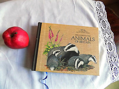 Vintage Book Reader's Digest Nature Books:Field Guide to the ANIMALS of BRITAIN