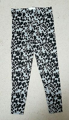 Girls Tammy Girl Leopard Print Leggings Age 8-9 Worn Once