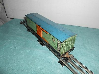 Lionel Prewar 1719 Lithographed Tinplate Boxcar Very Good Condition
