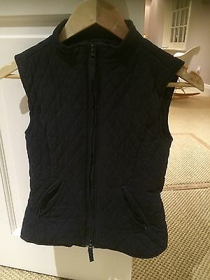 Shires Gilet Navy Child's 8/10yrs