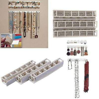 Newest Necklace Earring Jewelry Organizer Wall Hanging Display Stand Rack Holder