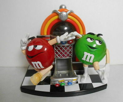 M&M Candy Rock Roll Juke Box Dispencer