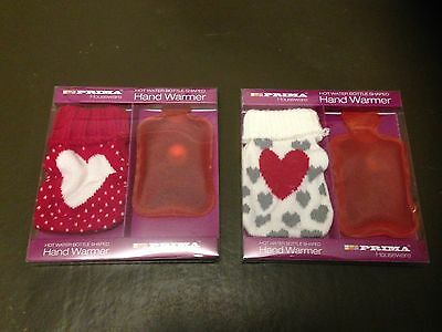 Hot Water Bottle Shaped Reusable Hand Warmers