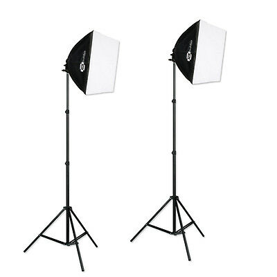 JensenBest Studio Softbox Light Kit For Photography And Video 12in 500W