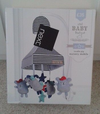 Next Toodle Pip Nursery Musical Cot Mobile - New in Box