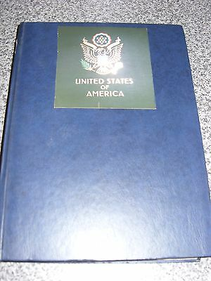Usa Early Used Stamps In A 32 Page  Album Very Nice Aprox 1150 Stamps