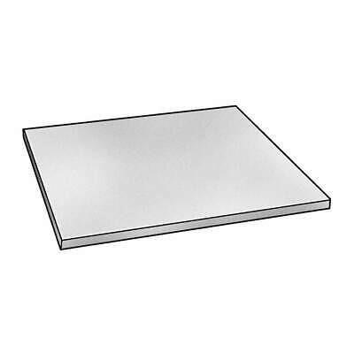 GRAINGER APPROVED Stainless Steel Sheet Metal,430 SS,0.025 x 6 x 12 In, 7185