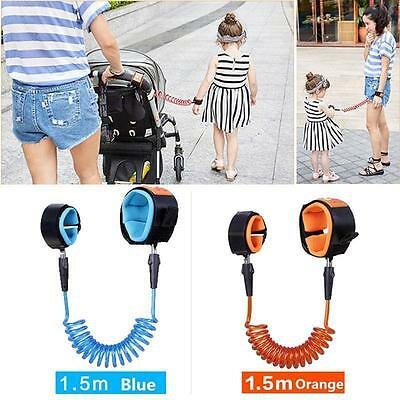 Traction Rope Baby Toddler Kids Safety Harness Child Leash Anti Lost Wrist Link