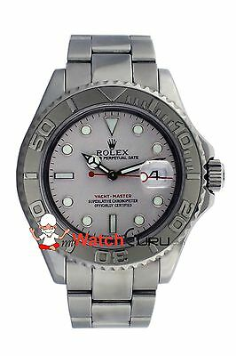 Rolex Yacht - Master 16622 40mm Platinum Dial with Bidirectional Rotatable Bezel