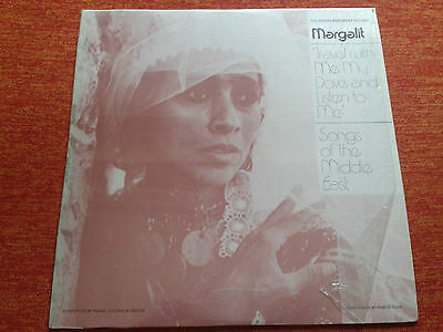 Songs of the Middle East Margalit Folkways Records