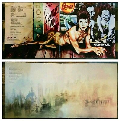 david bowie diamond dogs gatefold sleeve