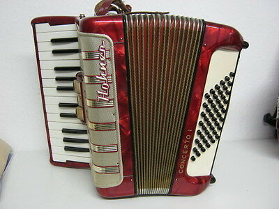 Akkordeon HOHNER CONCERTO I 48 Bass ! Made in Germany