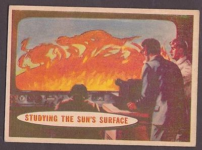 "Card from ""Space Cards"" issued by A&BC in 1958 no.78 Studying the Sun's Surface"