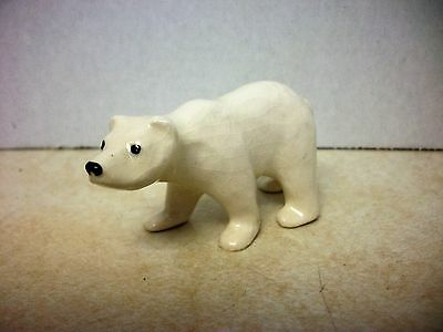 Vintage Miniature Hagen Renaker Mama Polar Bear Bone China Figurine A-942