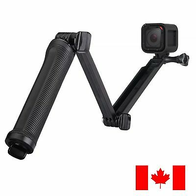 3-Way Adjustable Hand Grip Arm Tripod Camera Mount For GoPro Hero ships CANADA!