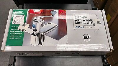 NEW!!!  Edlund U-12C Manual Can Opener  - Free Shipping!