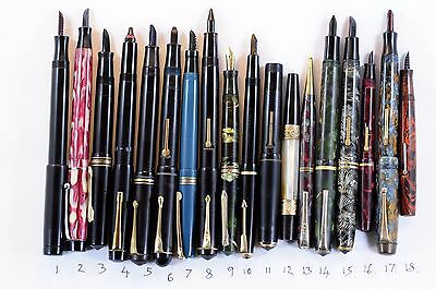 33 Assorted pens for spares/repair Swans, C Stewart, Wahl,Waterman + many others