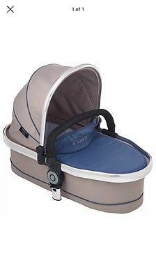 Azure Peach Twin Carrycot