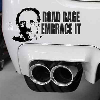 Hannibal Lecter Decal Sticker Window Bumper Road Rage Deterrent