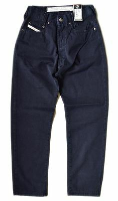 New Diesel Industry Men's Modern Basic Pant New Saddle Work Pants Navy Size 31