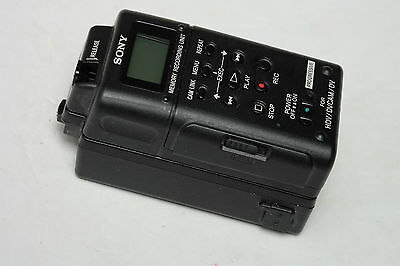 Sony HVR-MRC1K compact flash HDV Memory Recording Unit with HVRA-CR1 Cradle