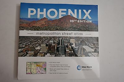 Phoenix Metropolitan Street Atlas 39Th Edition