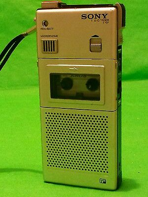Vintage 1977 Sony M-101 professional micro-cassette recorder dictaphone