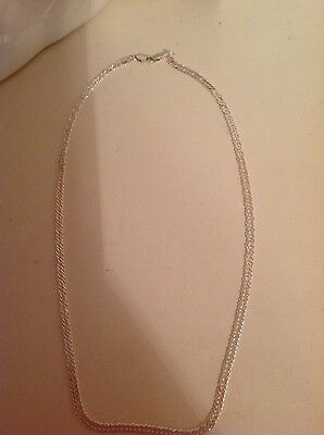 New Sterling Silver Chain 20 inch Long