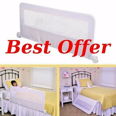 Regalo Swing Down Bedrail Bed Rail Crib Toddler Child Safety Guard Extra Long